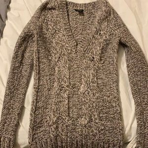 Ann Taylor Cable knit sweater XSP